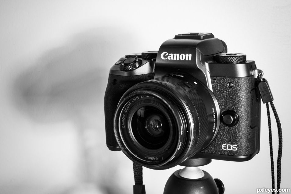 First prize : Canon EOS M5