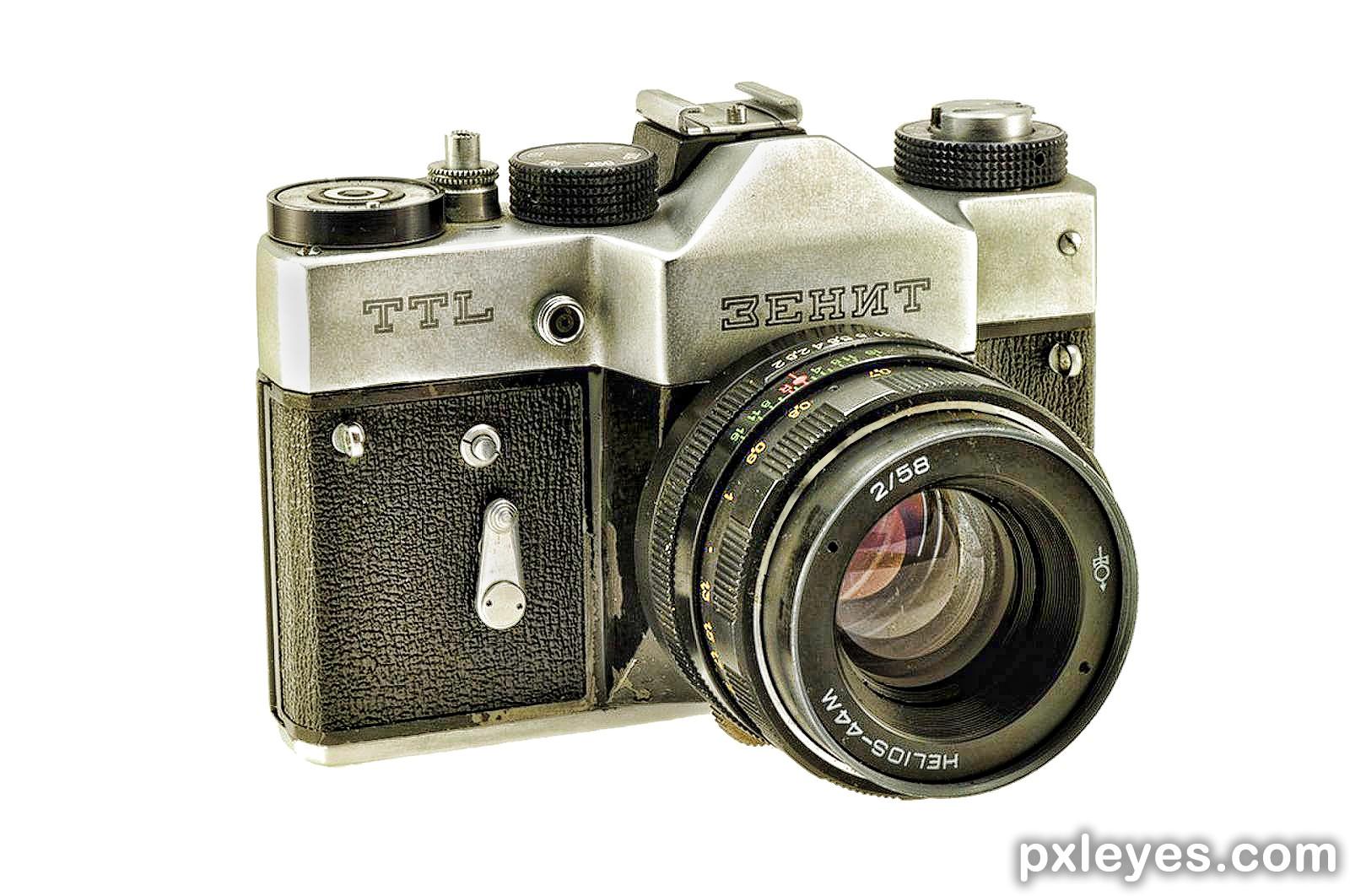 Цифровой фотоаппарат из зенита своими руками 92