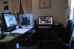 My work area