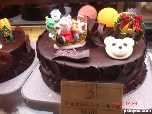 Japanese Christmas Cake picture, by SahyaMonster for: yummy treats ...