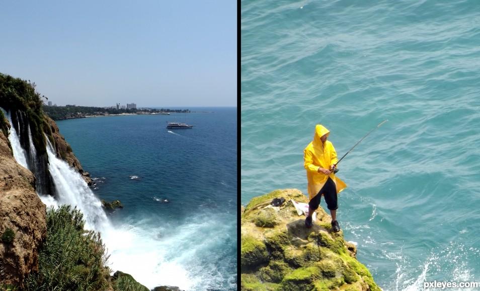 Brave Fisherman