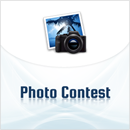 blue photography contest