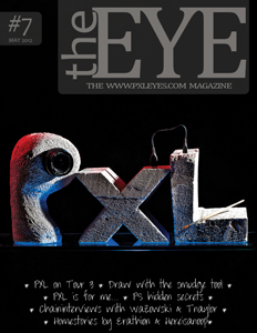 Pxleyes magazine - the eye 07