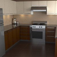 Model, Texture, and Render a Photorealistic Kitchen - Blender