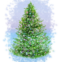 Painting a Holiday Christmas Tree - Corel-Painter Tutorial ...