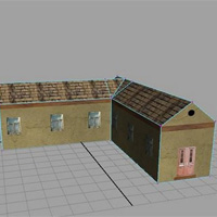 Maya model house tutorial