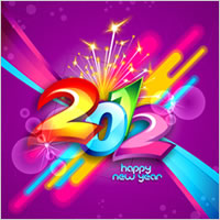 New Year Wallpaper Design - Coreldraw Tutorial - Pxleyes com