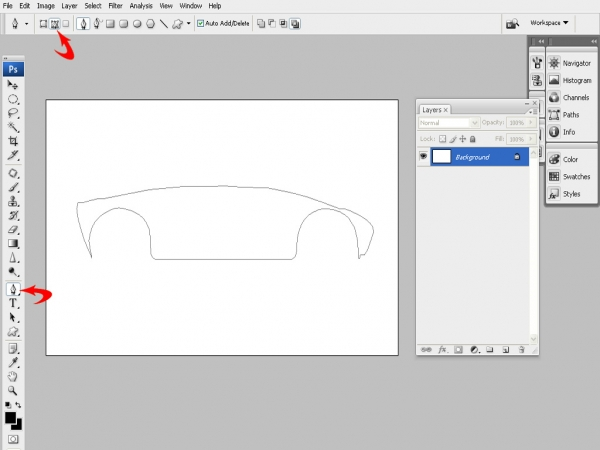 Draw a Futuristic Car From Scratch - Photoshop Tutorial - Pxleyes.com