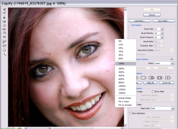 Professional Make-up and Face Slimming - Photoshop