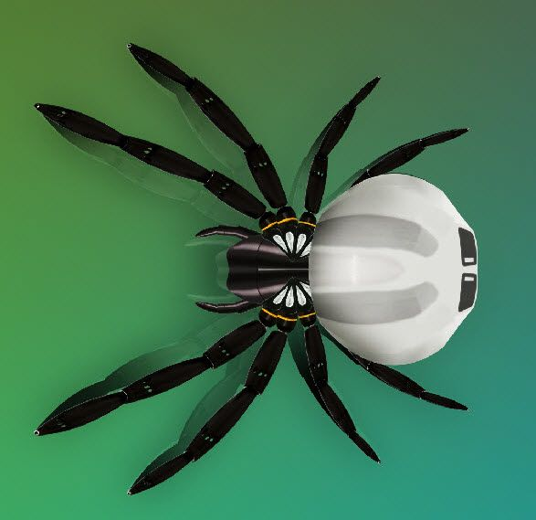 Create a Robotic 3D Spider