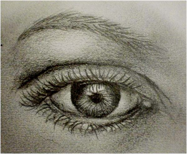 Traditional-Drawing Tutorial: How to Draw a Realistic Eye