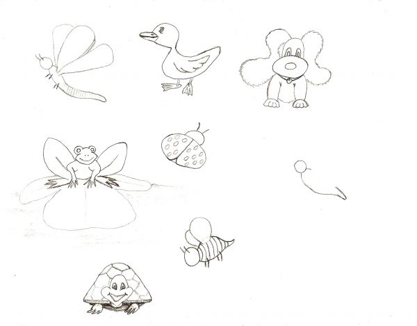 Cute Designs to Draw On Paper