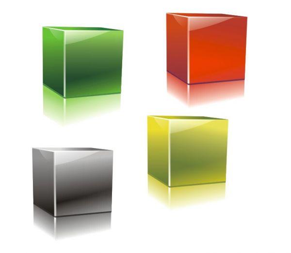 Create Glossy 3D Cubes - Coreldraw Tutorial - Pxleyes.com