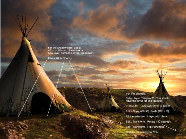 Traducido del ingles al español: cómo crear una puesta de sol india hermosa escenografía 1491_step19_4ade20905f69f