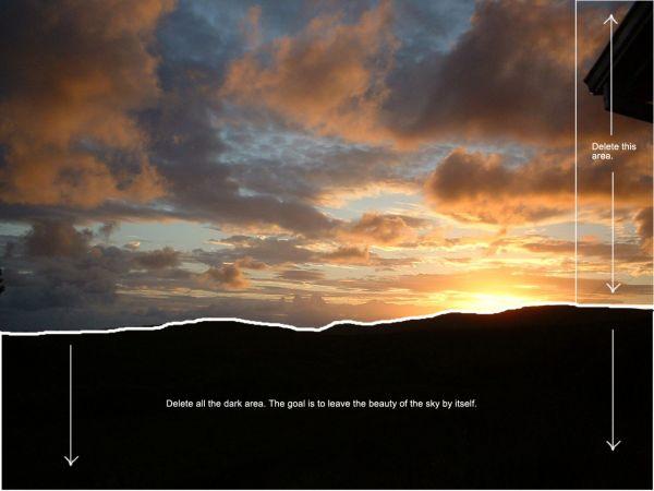 Traducido del ingles al español: cómo crear una puesta de sol india hermosa escenografía 1491_step2_4adde13192040