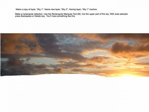 Traducido del ingles al español: cómo crear una puesta de sol india hermosa escenografía 1491_step4_4adde5d36213c