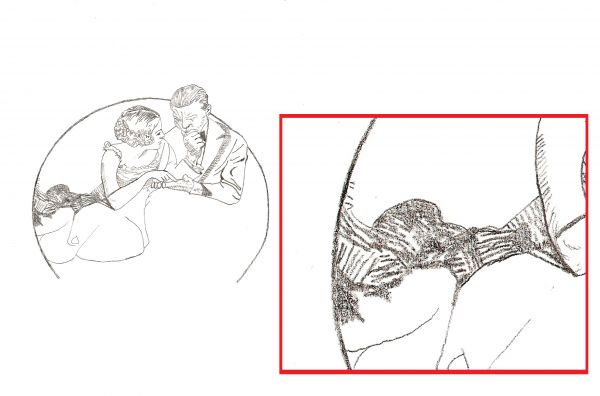 how to draw like norman rockwell