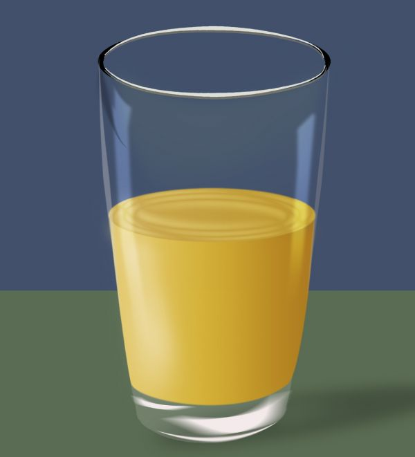glass photoshop: