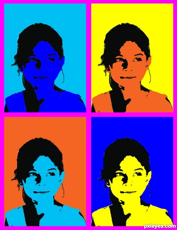 A Quick Way To Transform Your Photos Into Andy Warhol Pop Art Style
