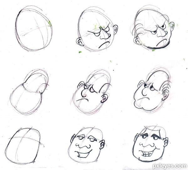 Traditional-Drawing Tutorial: Simple Tricks to Draw Your Own Cartoons