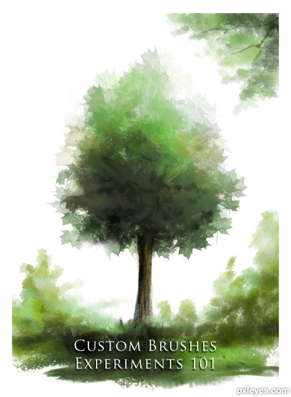 Create Beautiful Custom Brushes for Painting Trees - Photoshop ...