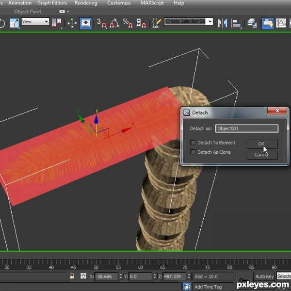 How to model a palm tree 3ds max tutorial for 3ds max step by step tutorials for beginners