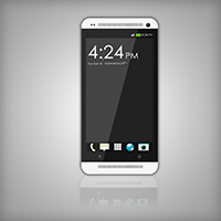 Photoshop Tutorial: Create the HTC One Smartphone from Scratch