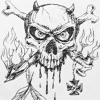 Make An Angry Skull Face Traditional Drawing Video Tutorial