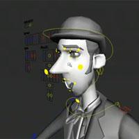 Facial Rigging - Maya Video Tutorial - Pxleyes com