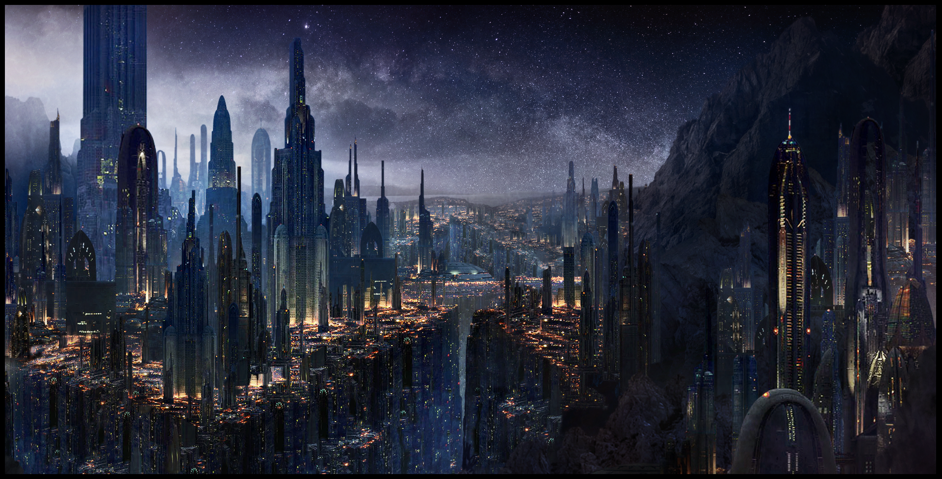 art futuristic cities - photo #44