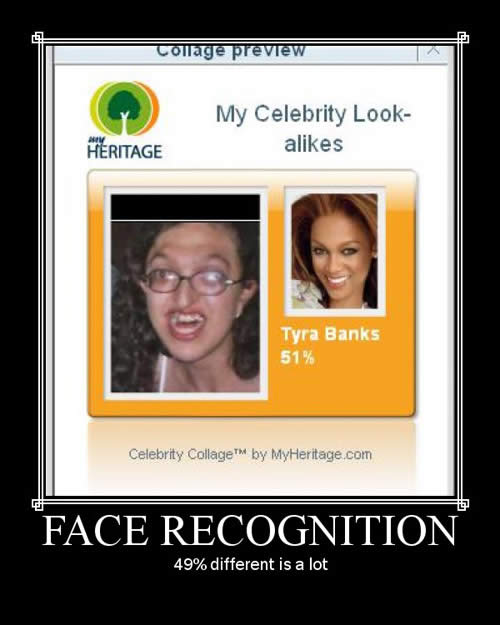 Face Recognition Photoshop Picture